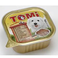 TOMi ПТИЦА (poultry) консервы корм для собак, паштет. Вес 300гр.