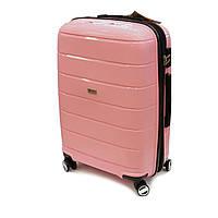 Дорожный чемодан из полипропилена большой Airtex Jupiter 232 розовый, фото 1