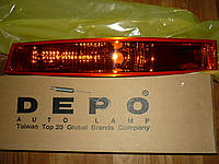 Указатель поворота левый желтый Renault Master  03> (DEPO 551-1609L-UE)