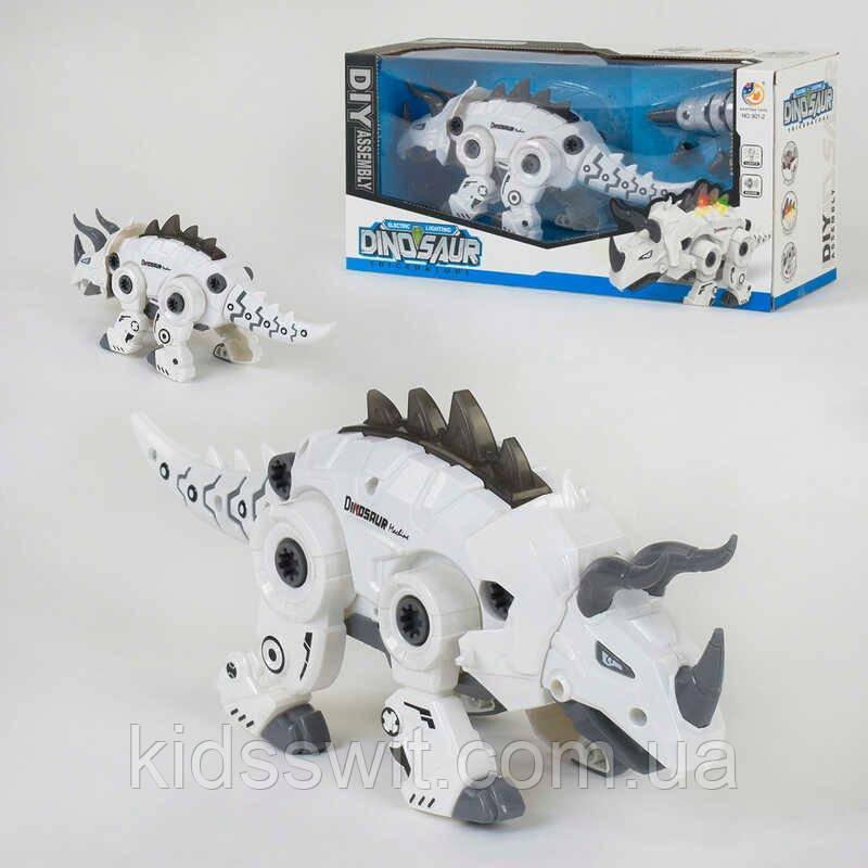 Динозавр 801-2 світло, звук, ходить, в коробці