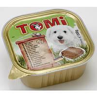 TOMi ДИЧЬ (game) консервы корм для собак, паштет.Вес 300гр.