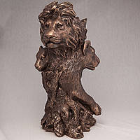 """Оригинальная статуэтка - ваза """"Прайд"""" 32 см. Подарок для лидера, руководителя"""