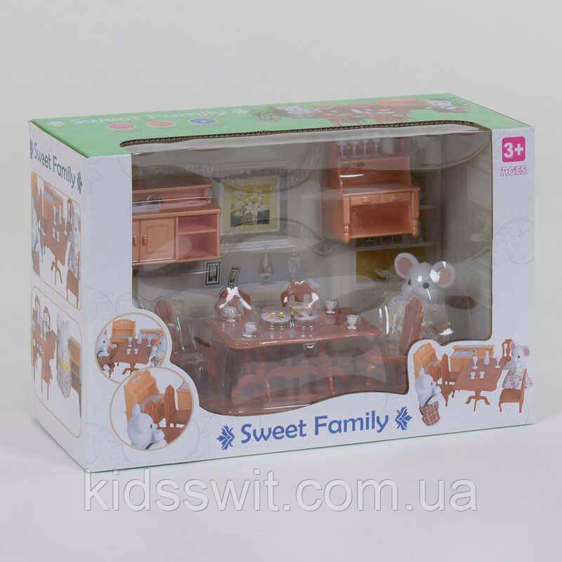 """Набор мебели для столовой 1601 F """"Счастливая семья"""" """"Кухня"""", 19 элементов"""