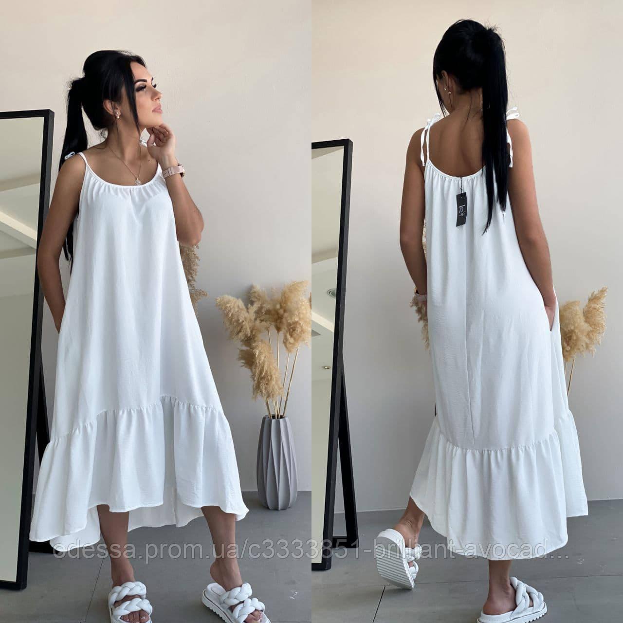 Женский модный летний сарафан - платье, размер 42 44 46 48 50 52