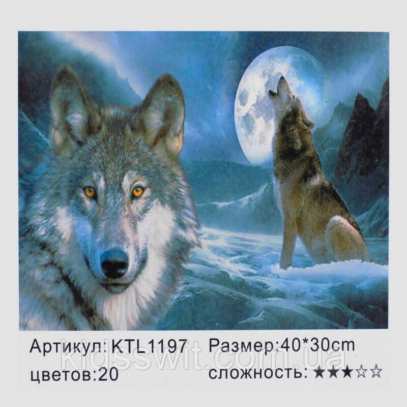 Картина за номерами KTL 1197 в коробці 40х30