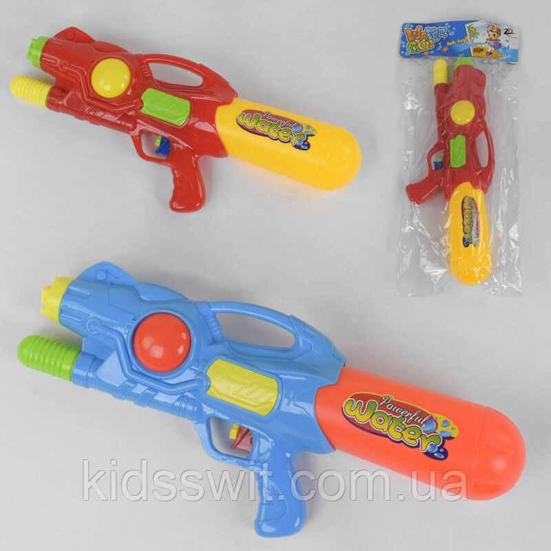 Водный пистолет 1012, 2 цвета, в кульке