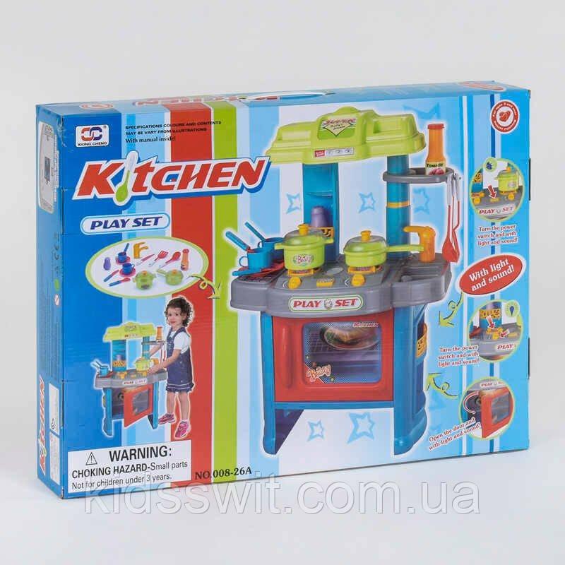 Кухня 008-26 А подсветка, звук, на батарейке, в коробке