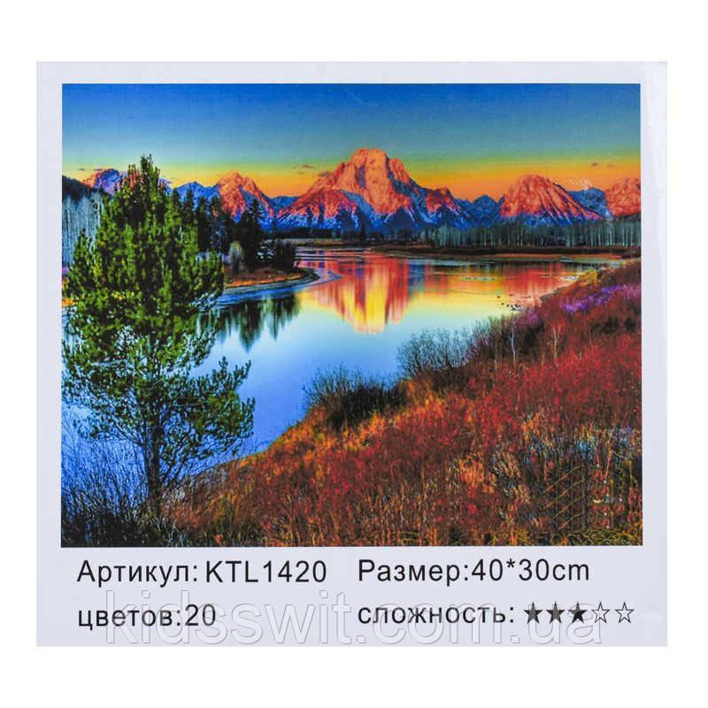 Картина по номерам KTL 1420 в коробке 40х30