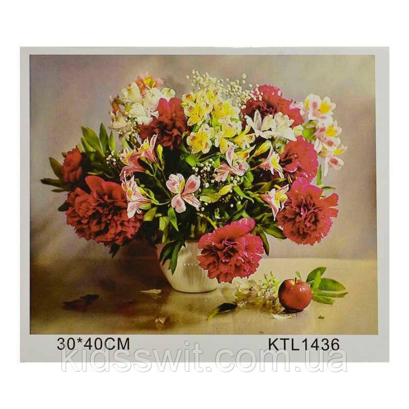 Картина по номерам KTL 1436 в коробке 40х30
