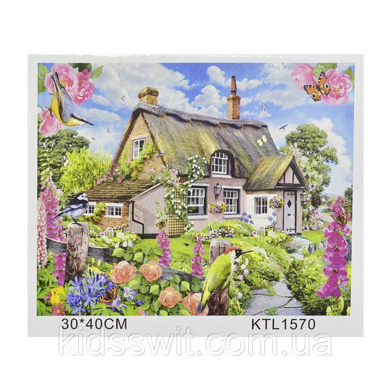 Картина за номерами KTL 1570 в коробці 40х30