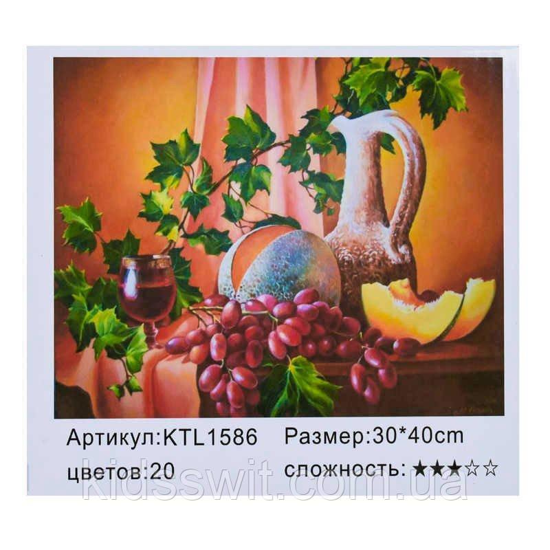 Картина по номерам KTL 1586 в коробке 40х30
