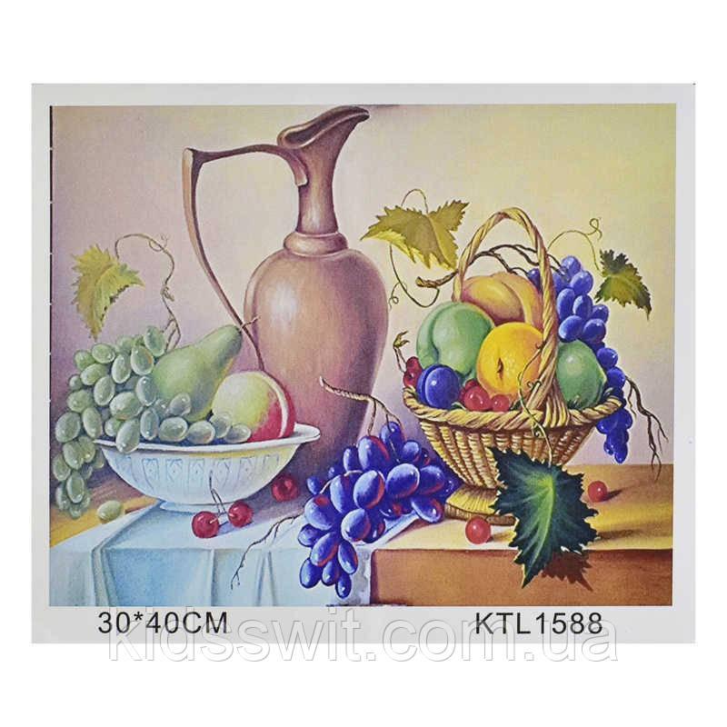 Картина за номерами KTL тисячу п'ятсот вісімдесят вісім в коробці 40х30