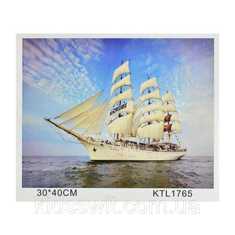 Картина по номерам KTL 1765  в коробке 40х30