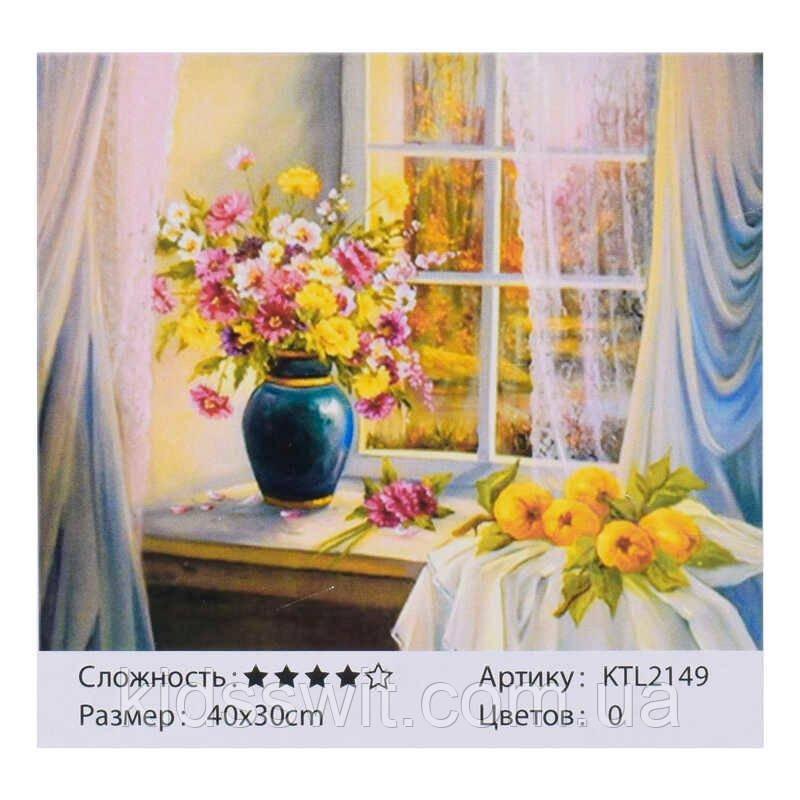 Картина по номерам KTL 2149, 40х30 см, в коробке