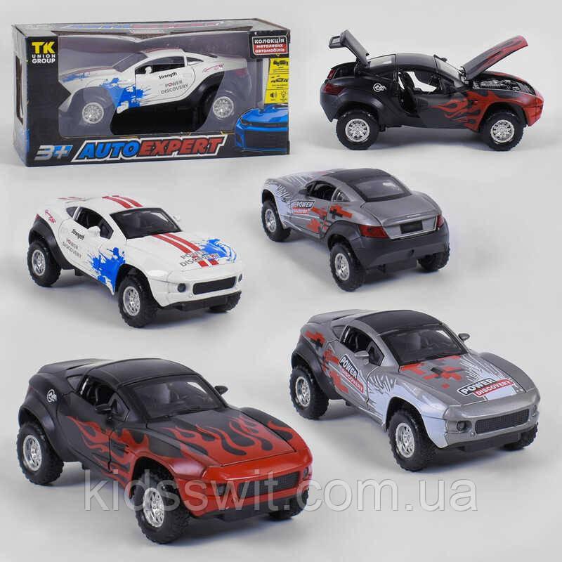 """Машина металлическая 53922  """"Auto Expert"""", 3 вида, свет, звук, инерция"""