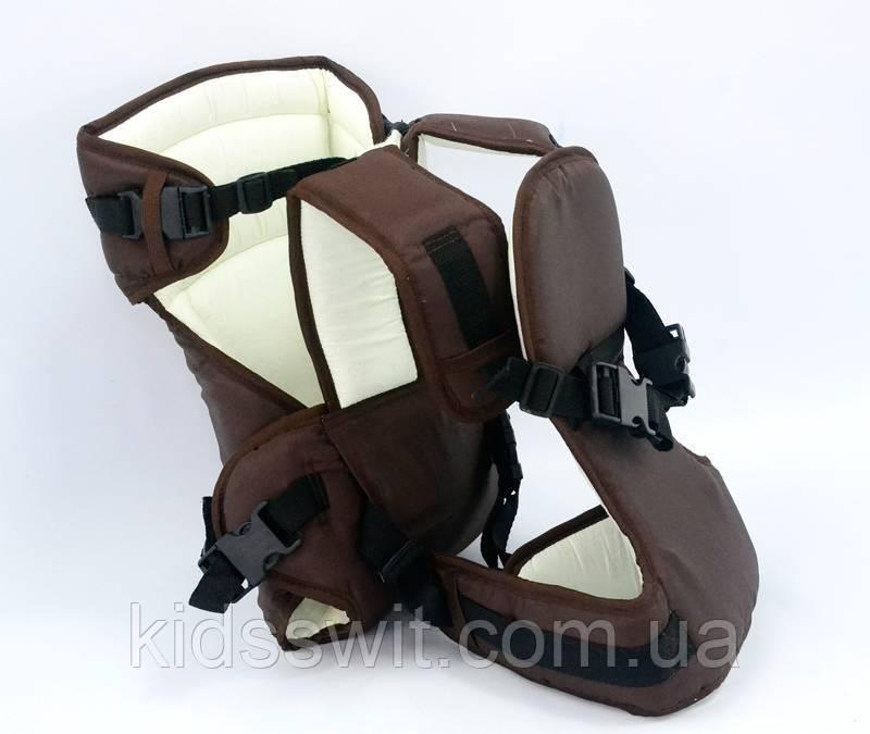 Рюкзак-кенгуру №12 - 1449 цвет коричневый