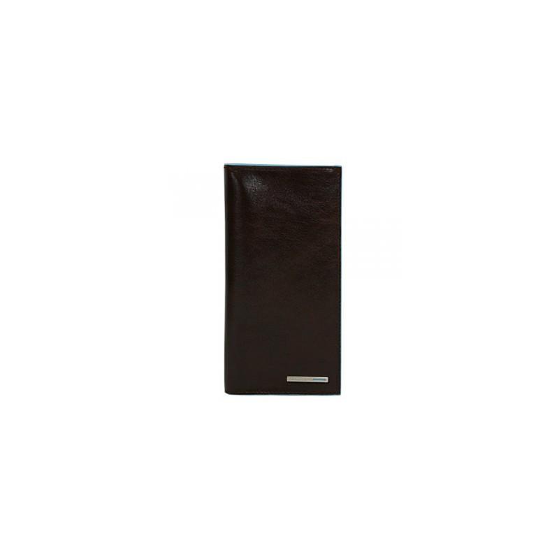 Портмоне чоловіче шкіряне вертикальне Італія коричневе 9,3*18*2 див. 2201086