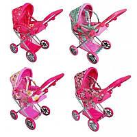 Детская коляска, игрушечная коляска для куклы и пупсов 9346