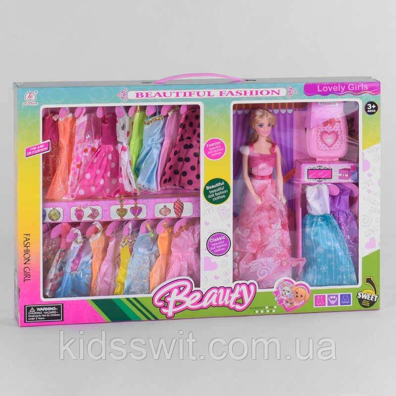 Кукла 60267 S  наряды, чемоданчик, в коробке