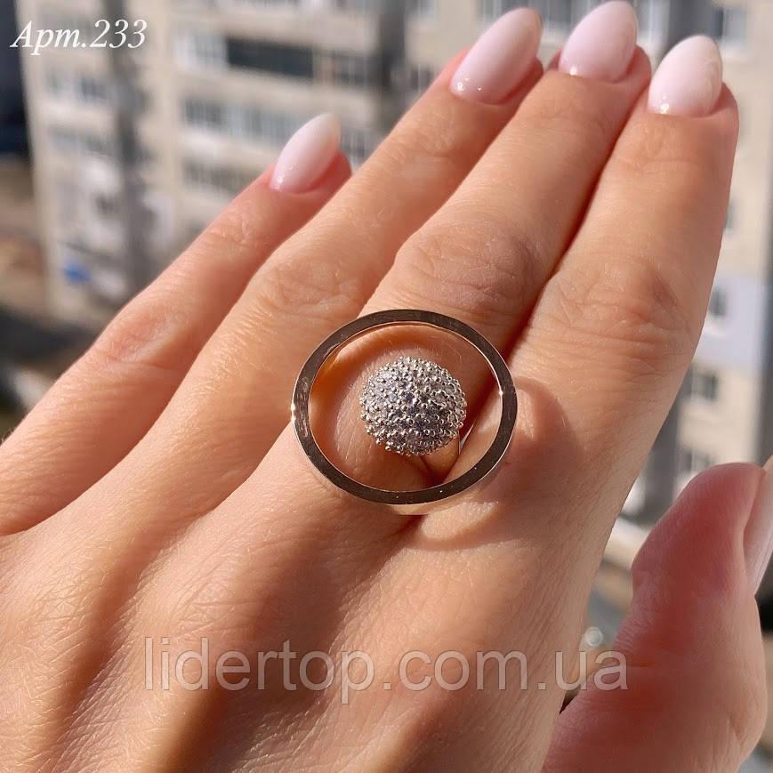 Кольцо Серебро 925 пробы + пластины Золота 375 пробы Размеры 14-21