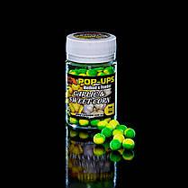 Поп Ап CarpZone Pop-Ups Fluro Garlic & Sweet Corn (Чеснок и Сахарная Kукуруза) 8mm/30pc, фото 2