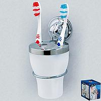 Стакан для зубных щеток на вакуумных присосках серии EverLoc