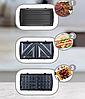 Сэндвичница міні гриль Kingberg KB-2046   вафельниця, домашній електрогриль, бутербродниця Кингберг, фото 6