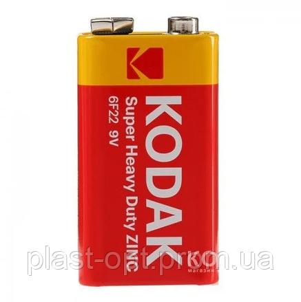 Батарейка Kodak крона (AA), 6F22-9V 10шт/кор, фото 2