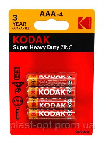 Батарейка R06 Kodak блістер 4шт, фото 2