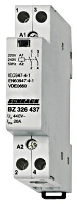 Контактор модульный BZ 20А 2НО 230В AC Schrack