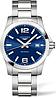 Чоловічі Годинники LONGINES L3.759.4.96.6 Conquest 41 mm Blue Dial Quartz CLASSIC