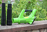 Повітродувка акумуляторна Greenworks G24AB ( BLG302 ) без АКБ і ЗУ, фото 2