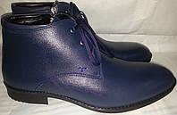 Ботинки мужские кожаные зимние MASIS 4532c