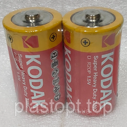 Батарейка KODAK R20 24шт\кор, фото 2