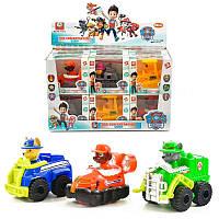 Ігровий набір Дитячого патруль (PAW patrol) G2001, 6 фігурок з транспортом