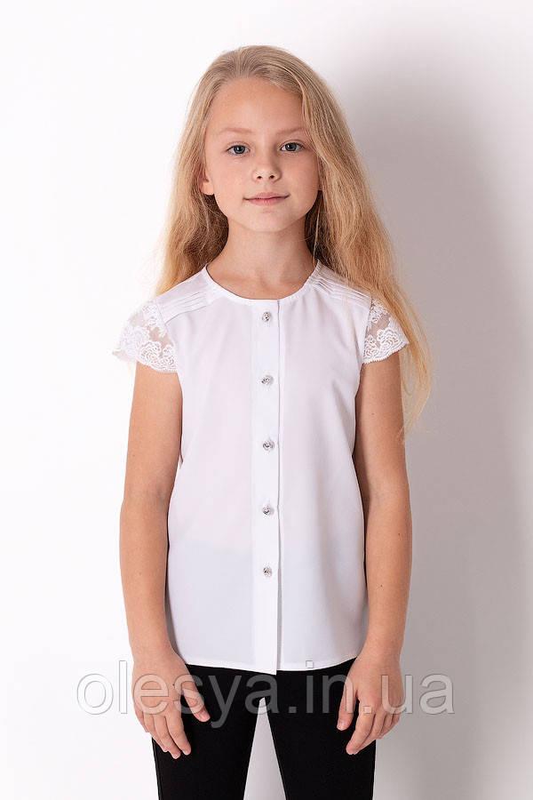 Школьная блузка для девочки Mevis 3680 Размеры 116- 140