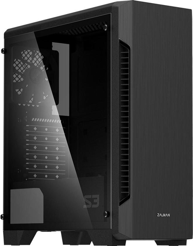 Корпус Zalman S3 TG Black без БП