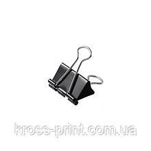 Біндер Axent 4401-A, 19 мм, 12 штук, чорний