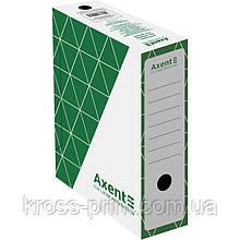 Бокс архівний Axent 1732-04-A 100 мм, зелений