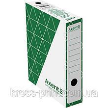 Бокс архівний Axent 1731-04-A 80 мм, зелений