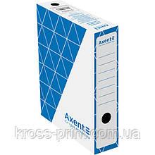 Бокс архівний Axent 1731-02-A 80 мм, синій