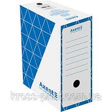 Бокс архівний Axent 1733-02-A 150 мм, синій