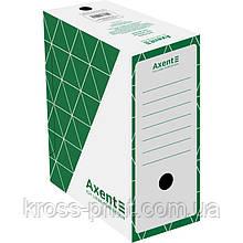 Бокс архівний Axent 1733-04-A 150 мм, зелений