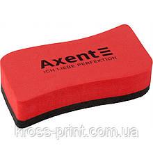 Губка для досок Axent Wave 9804-04-A, красная