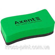 Губка для досок Axent Wave 9804-05-A, зеленая