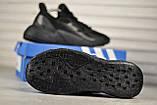 Стильні кросівки Adidas/Адідас X9000L4 Black, фото 2