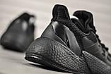 Стильные кроссовки Adidas/Адидас X9000L4 Black, фото 4