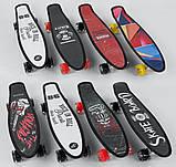 Скейт Пенни борд S 00635 Best Board дека 56 см, фото 8