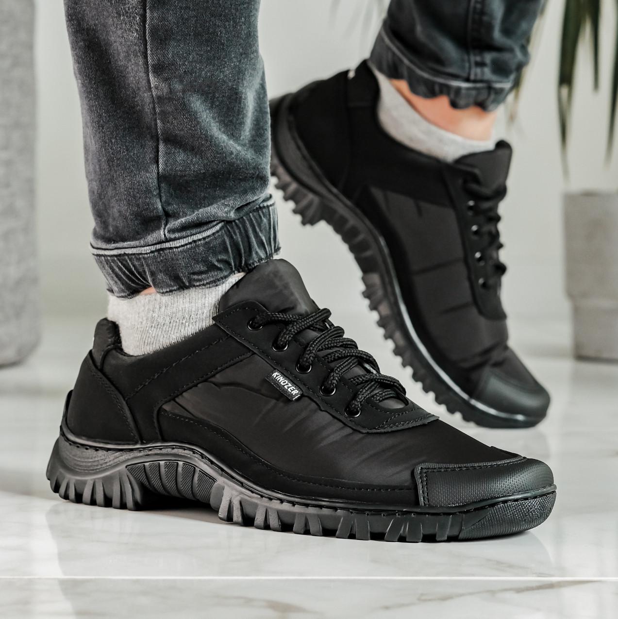 Кросівки чоловічі демісезонні чорні (Кз-18ч)