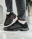Кросівки чоловічі демісезонні чорні (Кз-18ч), фото 5